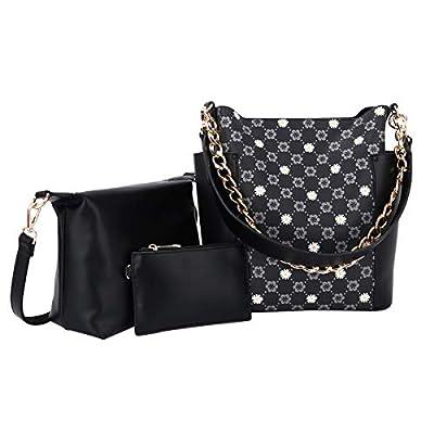 Amazon - Save 80%: Women Fashion Handbags Tote Bag Shoulder Bag Top Handle Satchel Purse Set…