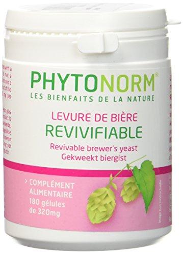 Levure de bière revivifiable - 180 gélules Phytonorm
