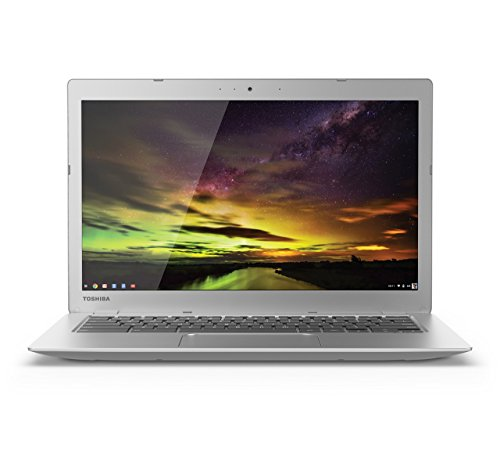 Toshiba CB35-B3330 13.3 Inch Chromebook (Intel Celeron, 2GB, 16GB SSD, Silver) (Certified Refurbished)