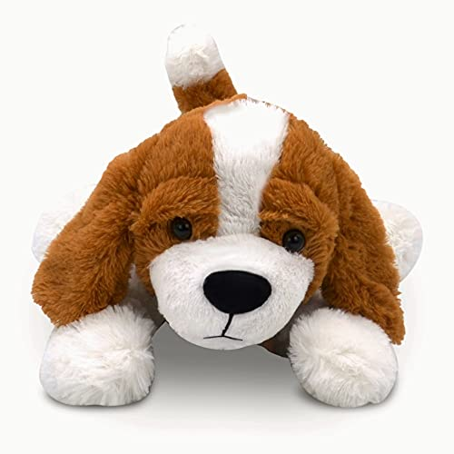 Landahl & Baumann   Amy Kuscheltier Hund 47cm   kuscheliger Plüschhund aus weichem Stoff   Stofftier Hündchen als idealer Buddy   Spielzeug, Geschenk, Plüschtier, Kinder, Erwachsene, Plüsch