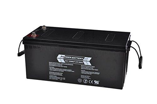 12V 200Ah RPower AGM Batterie / Bleiakku USV Akku Notstrom Notlicht Bleibatterie