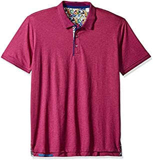 Robert Graham Men's Westan Short Sleeve Knit Polo