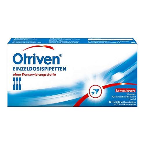 Otriven 0,1% Einzeldosierpipetten, 40X0.3 ml