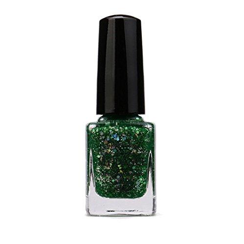 My Dance Mode Nail Polish Pailletten Glitter Abziehbare Nagellack Nail Art 16 Farben 14ml (O)