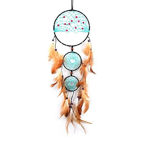 Pingente de pena, apanhador de sonhos, árvore de vida, pingente indiano criativo, presente da M I A