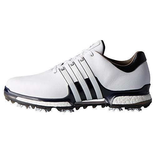 adidas Men's Tour 360 Boost 2.0 Golf Shoes, White (White/Black Q44985), 7.5 UK