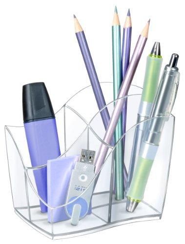 Cep 716847 - Organizador de escritorio, color cristal