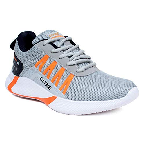 Ethics Men's Sports Latest Stylish Casual Sneakers/Lace up Lightweight Shoes for Running/Walking &...