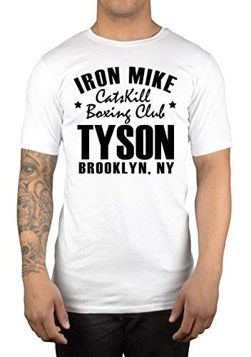 Cheap Men T Shirt Mens Short Sleeve T Shirt New Iron Mike Tyson Boxing T Shirt Top Fashion Shirt