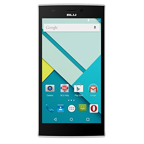 BLU Life One XL 8GB Unlocked GSM 4G LTE 13MP Quad-Core Android Phone - White