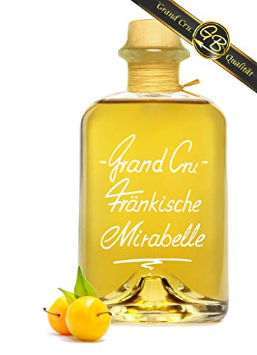 Grand Cru Fränkische Mirabelle sehr fruchtig u. weich 1L 40% Vol Schnaps Obstler Spirituose