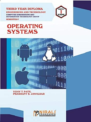 OPERATING SYSTEMS - THIRD YEAR DIPLOMA IN COMPUTER & IT ENGG GROUP - SEMESTER 5