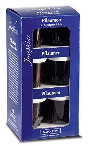 Josephine - Pflaumen in Armagnac-Likör 16% Vol. - 9 x 0,04l