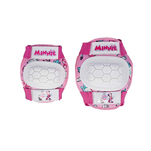 Mandelli Knie- & Ellenbogenschoner Set Minnie Mouse optimale Sicherheit! original # NEU