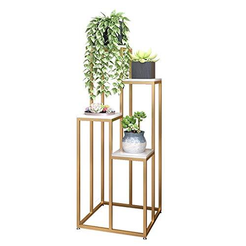 Multilayer Plant Stand, Flower Pots Holder Corner Display Stand Multifunction Storage Rack for Patio Corner Balcony Living Room Garden