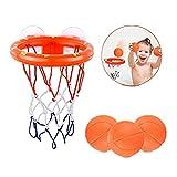 Tomasa Spielzeug- Spaß Baby Badespielzeug Basketballkorb Bälle Spielset Wasser Spielwaren