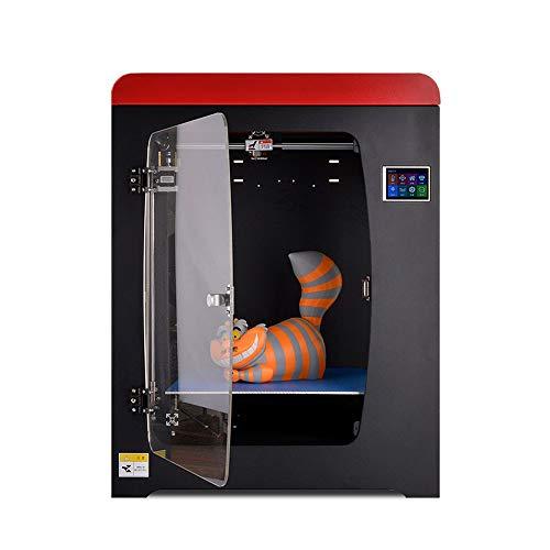 SMGPYDZYP Imprimante 3D, Imprimante 3D Industrielle, Ordinateur de Grande Taille Haute précision FDM Home 3D Printer Education Equipment