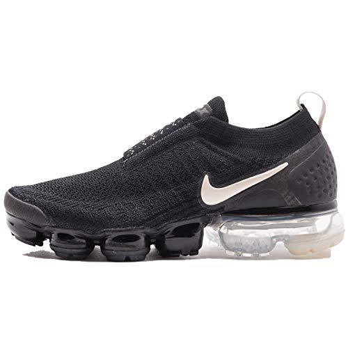 Nike Women's WMNS Air Vapormax FK MOC 2, Black/Light, Black, Size 12.0