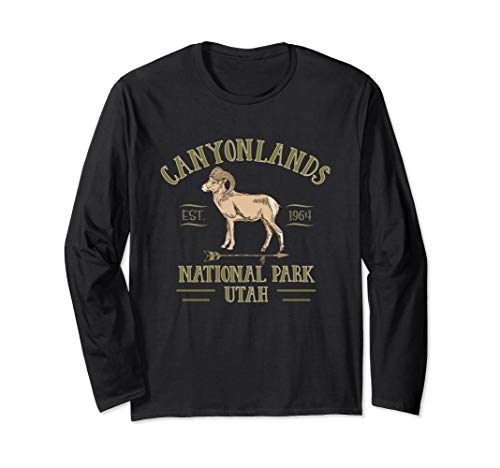 CANYONLANDS NATIONAL PARK UTAH beautiful tourist souvenir Langarmshirt