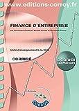 Finance d'entreprise Corrigé - UE 6 du DCG