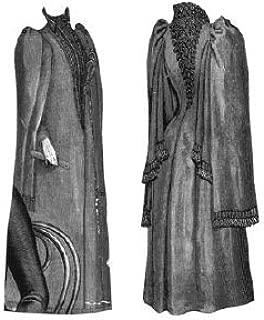 1891 Cloak for Elderly Lady Pattern