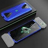 for Xiaomi Black Shark 3 Trois étape Splicing de Protection Couverture complète PC Case (Couleur: Noir), StarLightd (Color : Blue)