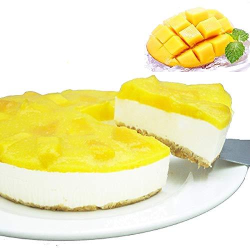 低糖質 スイーツ マンゴーレアチーズケーキ(砂糖不使用 糖質制限 チーズケーキ 5号 糖質74%カット お中元 スイーツ ギフト)