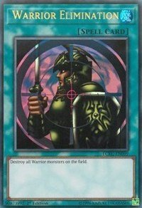 yu-gi-oh Warrior Elimination - LCKC-EN099 - Ultra Rare - 1st Edition - Legendary Collection Kaiba Mega Pack (1st Edition)