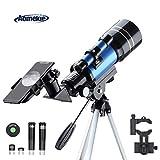 Aomekie telescopio para niños principiantes 70/300