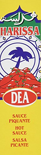 Dea Harissa Hot Sauce From France 2 Pack Combo 2X4.2 oz by Dea