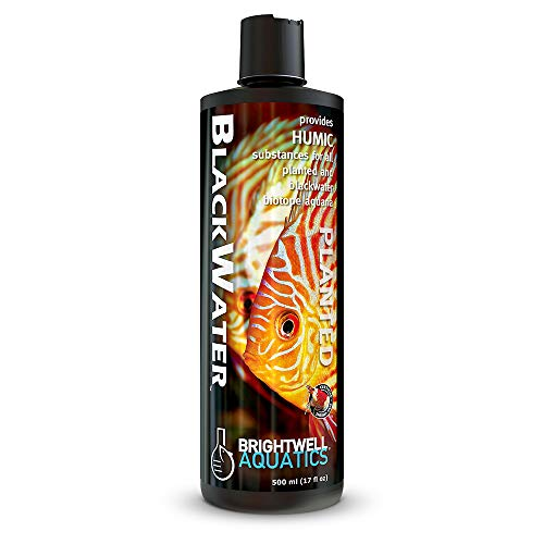 Brightwell Aquatics Blackwater - Liquid Humic Substance Conditioner for Planted and Freshwater...