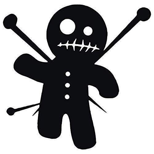 Set of 3 - Voodoo Doll - Black