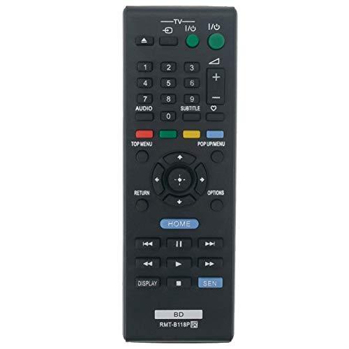 VINABTY Sostituzione telecomando RMT-B118P per SONY sistema Home Cinema Blu-ray BDP-BX18 BDP-S185 BDP-S186 BDPS185 BDPBX18 BDPS186