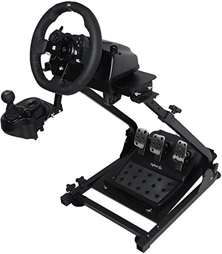 Marada Racing Wheel Stand Pro for Logitech G25, G27, G29, G920 Steering Wheel Stand with Driving Simulator Gaming Cockpit Wheel and Pedals Not Included (Only Stand)