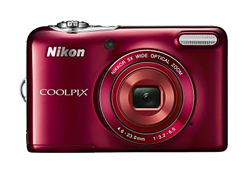 Nikon デジタルカメラ COOLPIX L32 レッド 光学5倍ズーム 2005万画素 乾電池タイプ L32RD