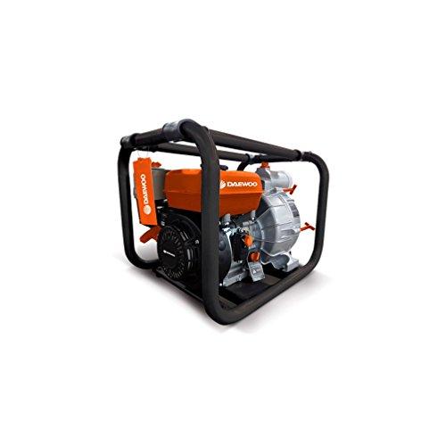 Daewoo GAT80 GAT80-Motobomba a Gasolina de 4 Kw, caudal MAX 833 L/m, Aguas residuales