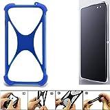 K-S-Trade® Handyhülle Für Alcatel Idol 4S Silikon Schutz