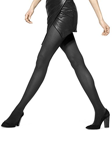 HUE Women's Opaque Control Top Tight, Black, 2 - http://coolthings.us