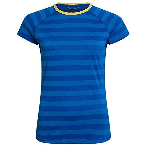 Berghaus UK T-Shirt à Manches Courtes pour Femme Rayures 2.0 XL Daphne/Blithe