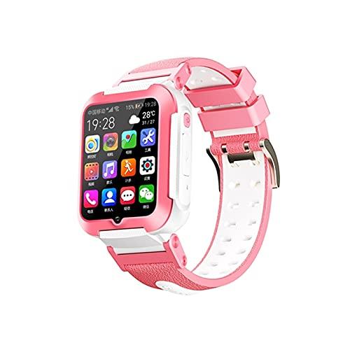 E7 Smart Watch AGPS LBS Ubicación Impermeable Niños Bebé Smartwatch Touch Screen Baby Wristwatch para iOS Android,C