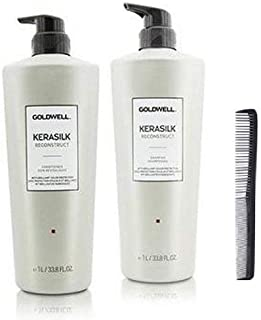 Goldwell Kerasilk Reconstruct Shampoo & Conditioner DUO Set 33.8oz