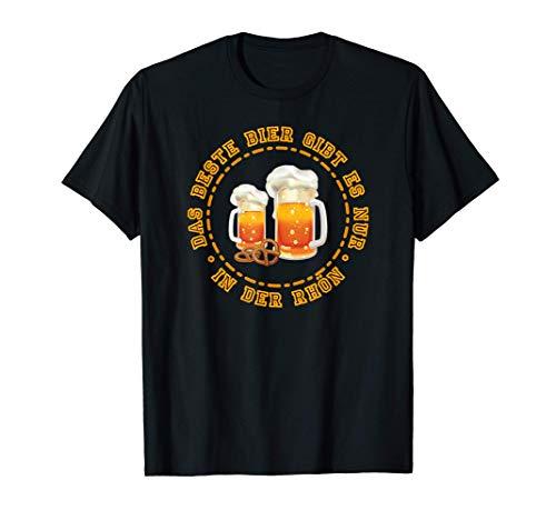 Das beste Bier gibt es in der Rhön Kreuzberg Vatertag T-Shirt