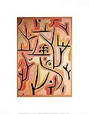 Paul Klee Park bei Luzern Poster Kunstdruck