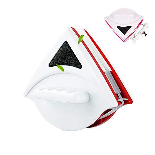 Limpiador magnético de cristal de doble cara de 15 - 24 mm, limpiador de ventanas,limpiador de cristal, herramienta de limpieza de limpiaparabrisas para doble acristalamiento de 0,5-1