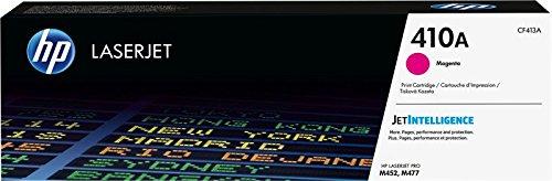 HP 410A CF413A Cartuccia Toner Originale per Stampanti Laserjet Pro della Serie M300, M450 e M470, Magenta