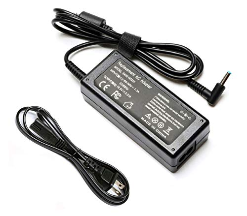 45W Laptop Adapter Charger for Hp Stream 360 11 13 14 14-ax010wm 14-ax020wm 11-y010wm 11-d010wm 11-p015wm 11-r015wm hp 11-r014wm 11-y010nr -19.5V 2.31A Notebook Power Supply Cord