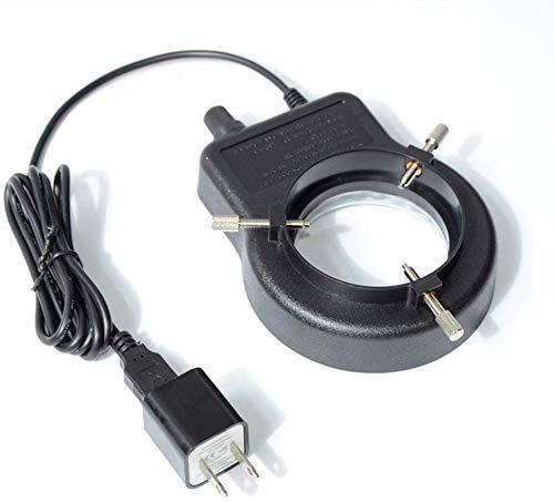 unknow 10X LED-Vergrößerungslampe Ringlichtquelle Helligkeit Einstellbarer Mittelstrahler USB-Netzteillupe