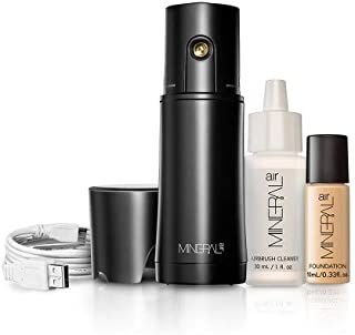 Mineral Air Complexion Starter Kit | Flawless Mineral Foundation Application- Light