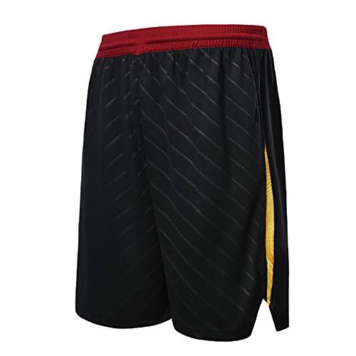 NIUPUPU Pantalones Cortos de Baloncesto para Hombre de la NBA Cleveland Cavaliers Pantalones Cortos de Fitness para Correr Pantalones Cortos de Entrenamiento de Ropa Informal de Gimnasio XXS-5XL