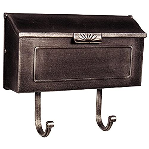 Special Lite Products Horizon Horizontal Mailbox SHH-1006SW, Swedish Silver,